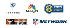 SEC ESPN | Pac 12 | NFL | | NBC Sports